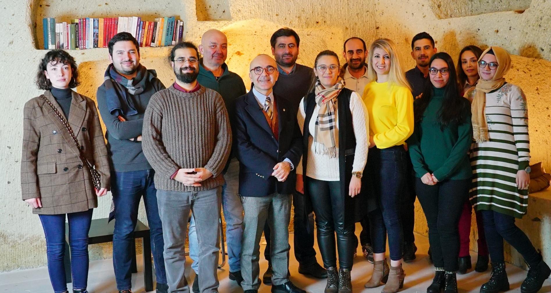 Siyaset Bilimci Barış Doster Kapadokya Üniversitesindeydi