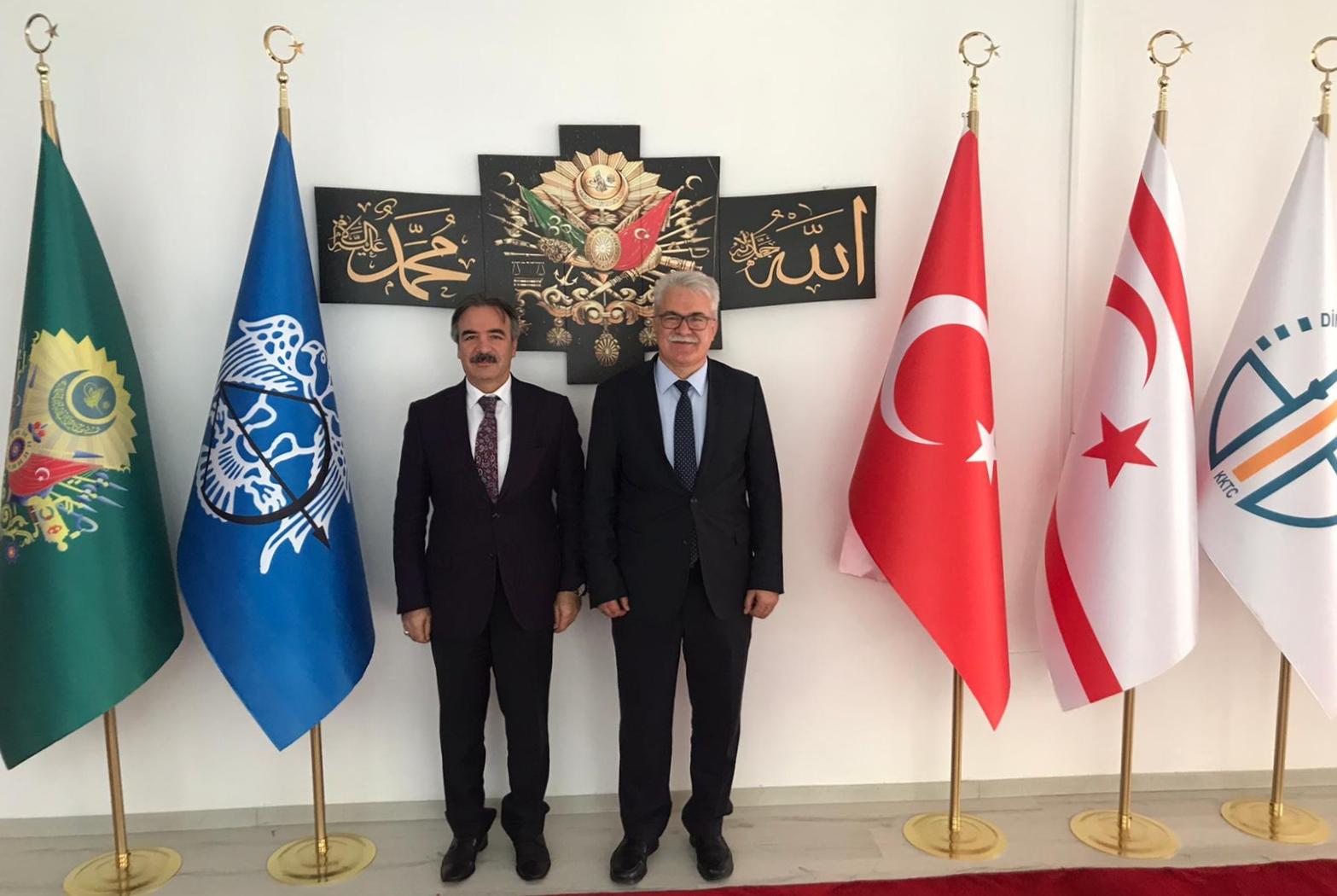 Bağlı'dan KKTC Din İşleri Başkanı Prof. Dr. Atalay'a ziyaret