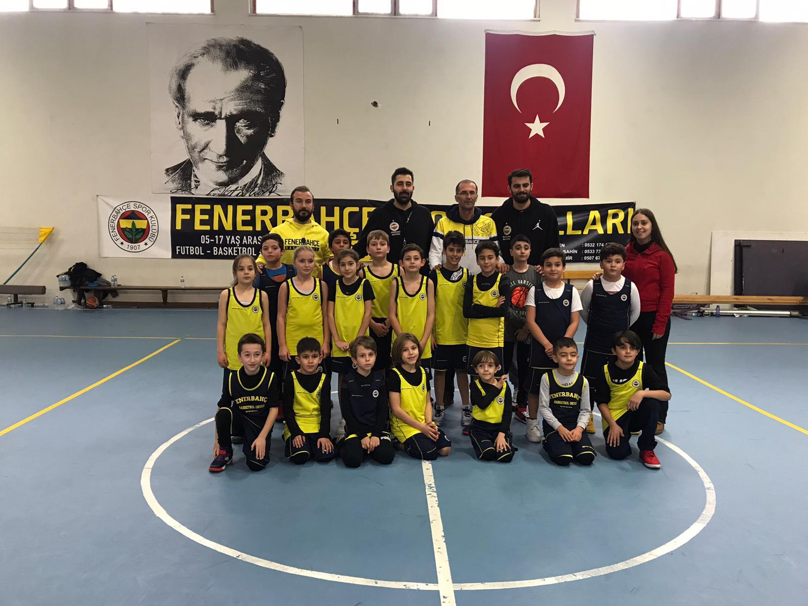 Nevşehir Fenerbahçe Basketbol okulundan Kayseri ziyareti