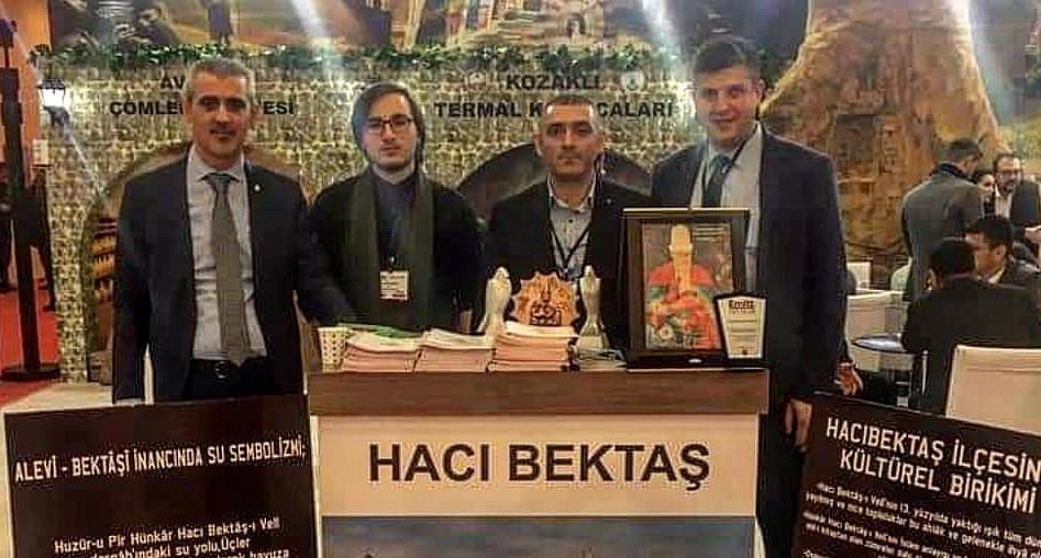 Hacıbektaş Belediyesi ilk defa EMİTT fuarına katıldı