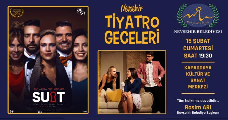 İddialı oyuncu kadrosuyla Nevşehir'de sahnelenecek