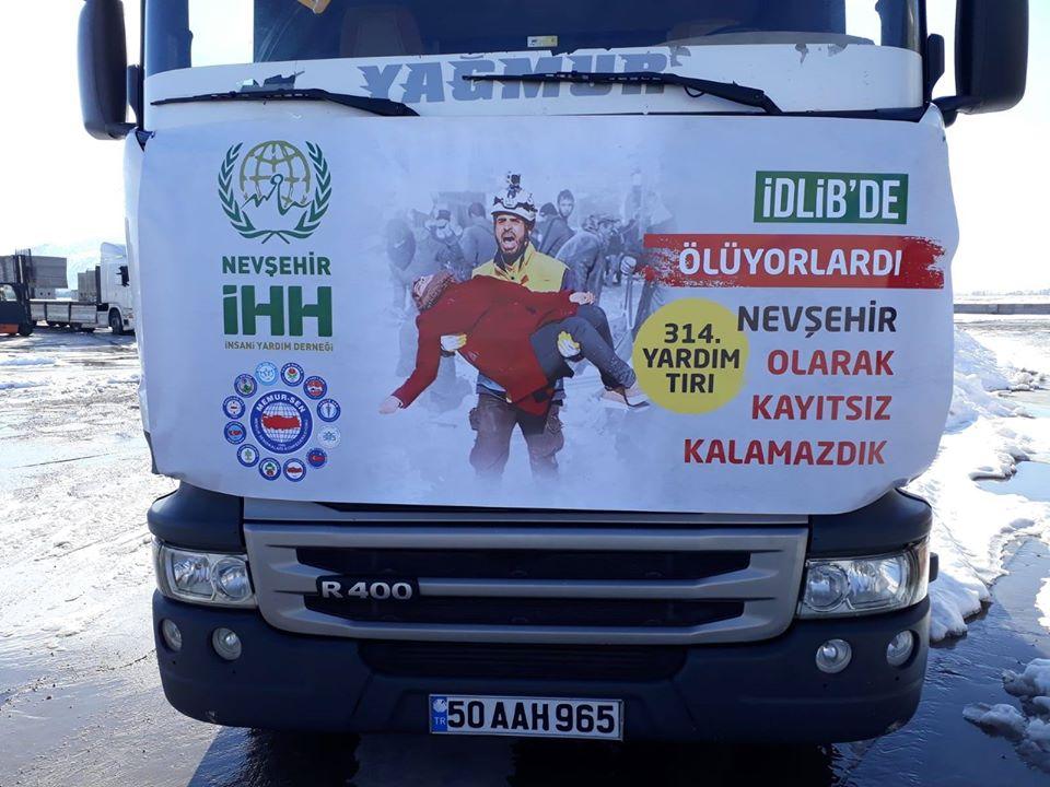 İdlib'e yardım kampanyası sürüyor