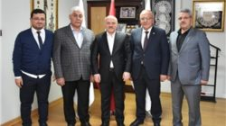 3 belediye başkanından Öz'e ziyaret