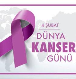 4 Şubat Dünya Kanser günü 2020