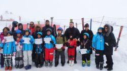 Altınyıldızlılar Kayak Eğitimindeler