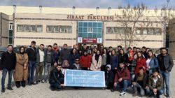 Avanos MYO öğrencileri Şanlıurfa 7. Tarım Gıda Fuarında