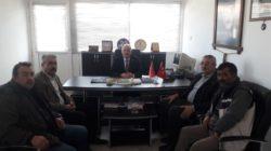 Başkan Pınarbaşı'nın oda ziyaretleri sürüyor