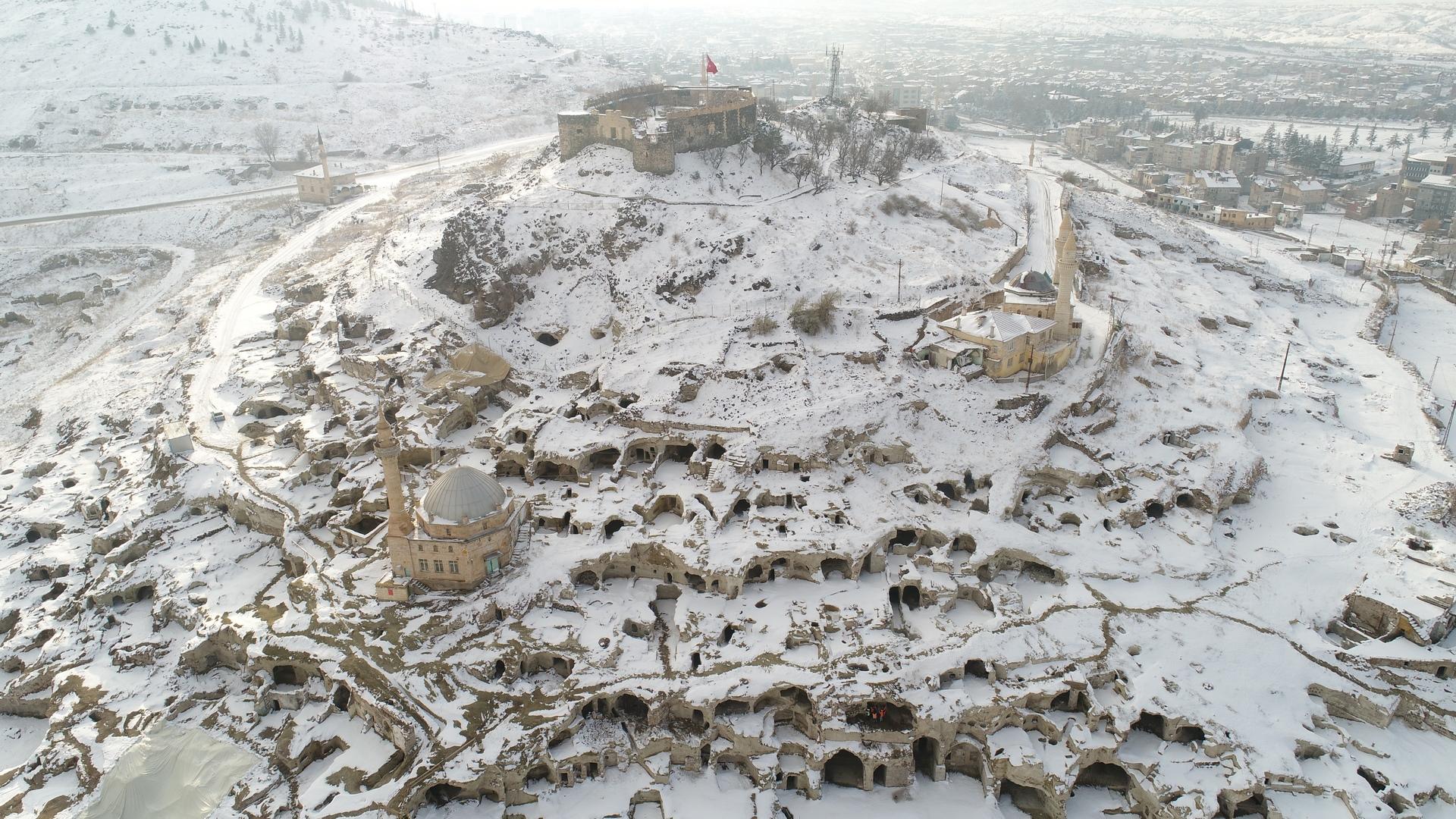 Nevşehir'de Kartpostallık görüntüler oluştu