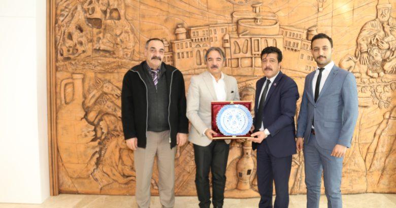 Nevşehir Şehit Gazi-Sen'den Rektör Bağlı'ya ziyaret