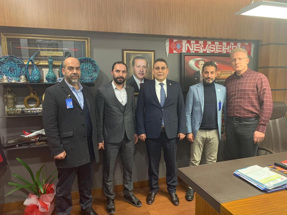 Sağlık-Sen Nevşehir heyetinden Vekil Menekşe'ye ziyaret