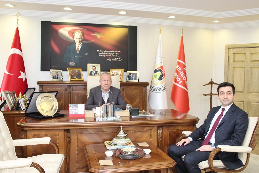 TKDK Koordinatörü Şenoğlu'dan NTB Başkanı Salaş'a ziyaret