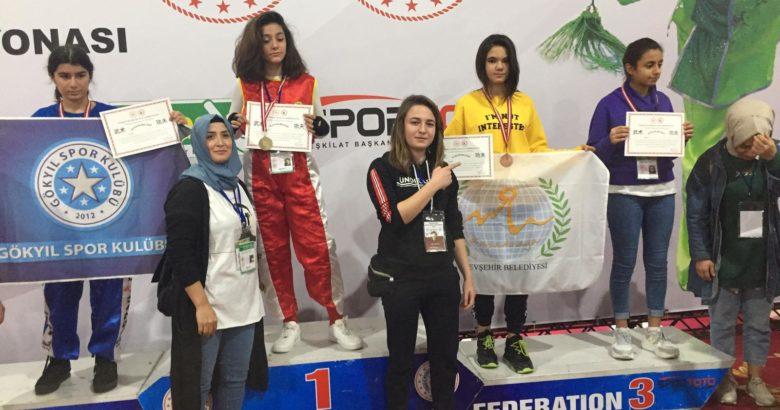 Türkiye Şampiyonası'nda sporculardan 2 Bronz Madalya