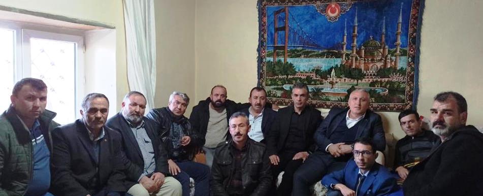 Başkan Çiftçi'den İdlib gazisine ziyaret