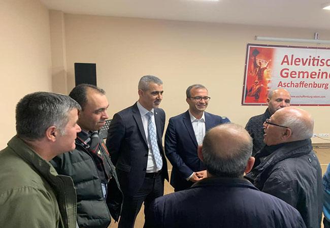 Belediye Başkanı Altıok Almanya'yı ziyaret etti