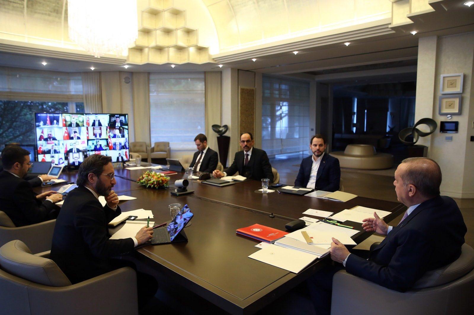 Başkan Arı, Cumhurbaşkanı Erdoğan ile görüştü