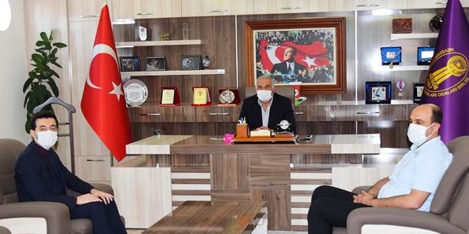 TKDK İl Koordinatörü Şenoğlu'ndan Pınarbaşı'na ziyaret