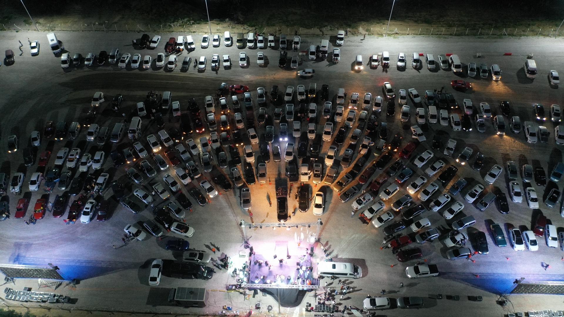 Nevşehir'de arabalı konser etkinliği