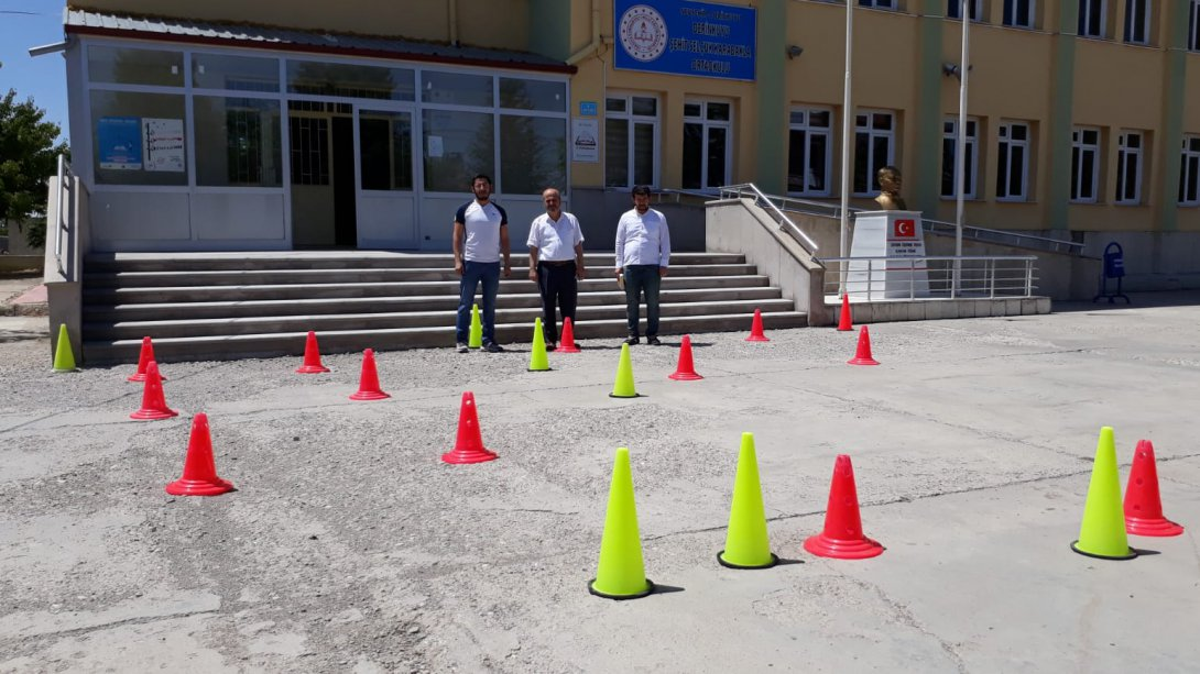 Derinkuyu'da sınav tedbirleri alındı