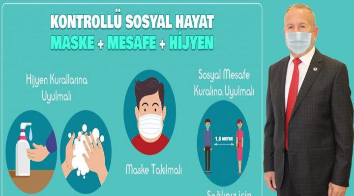 Salaş, Nevşehirli vatandaşları salgına karşı uyardı