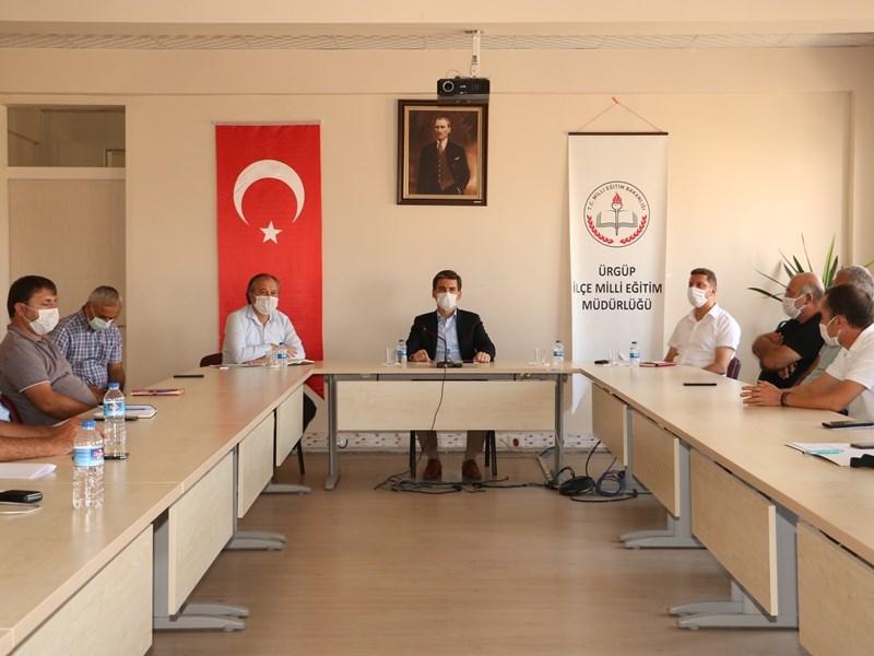 Ürgüp'te temel eğitim kurumları toplantısı yapıldı