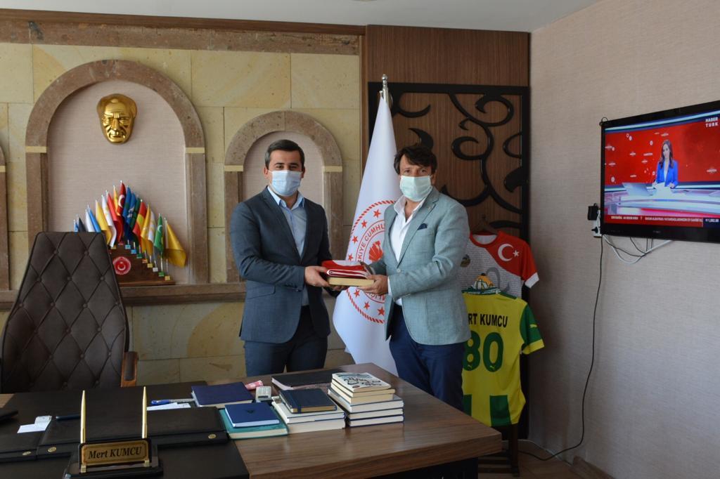 Başkan Çetin, Derinkuyu Kaymakamını ziyaret etti