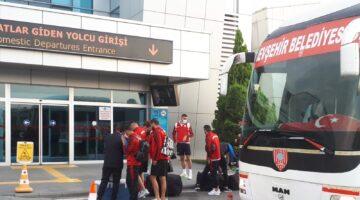 Nevşehir Belediyespor ilk deplasmanı için yola çıktı