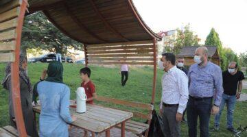 Başkan Arı, 2000 Evler, İbrahim Paşa ve Kıratlıoğlu Mahallerinde incelemelerde bulundu