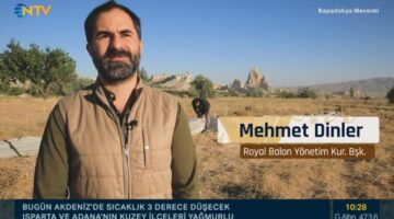 Kapadokya NTV'de tanıtıldı