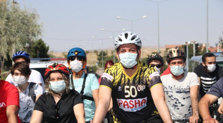 Başkan Aktürk, Avrupa Hareketlilik Haftası için pedal çevirdi