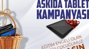 Nevşehir Belediyesi'nden 'Askıda Tablet' kampanyası