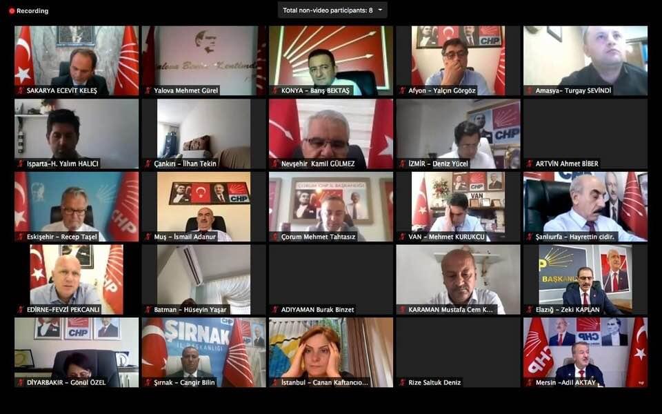 Gülmez, Kılıçdaroğlu'na Nevşehir'in sorunlarını anlattı