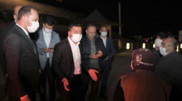 Başkan Arı, Kayaşehir etrafındaki çalışmaları inceledi