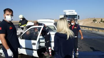Nevşehir'de feci trafik kazası 2 ölü