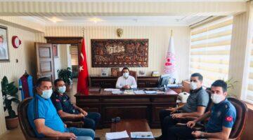 Gülşehir'de komisyon toplantısı