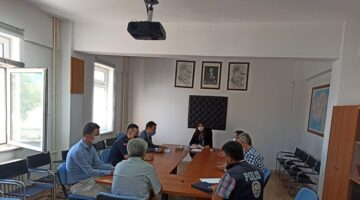 Hacıbektaş'ta güvenlik toplantısı