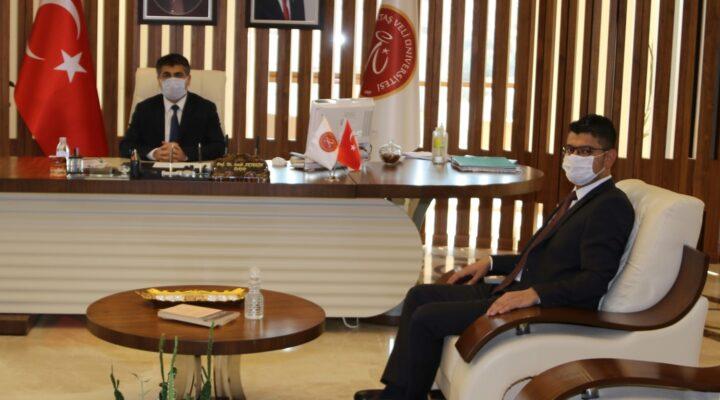 Başkan Kabukcuoğlu'ndan Rektör Aktekin'e ziyaret