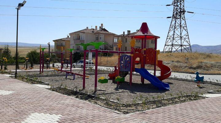 Avanos Belediyesi'nden çocuklara oyun parkı