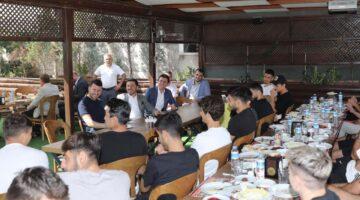 Başkan Arı Nevşehir Belediyespor'a başarılar diledi