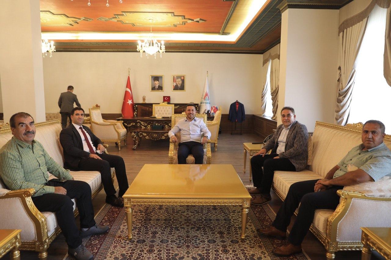 Genel Müdür Turşucu'dan Belediye Başkanı Arı'ya ziyaret