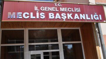 İl genel meclisinin eylül ayı kararları açıklandı