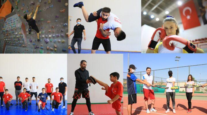 Nevşehir Belediyesi geleceğin sporcusunu yetiştiriyor