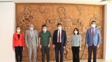 Rektör Aktekin Üniversitede Görev Yapan Gazi yakınlarıyla bir araya geldi