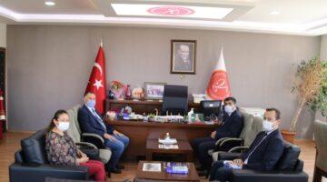 NEVÜ Rektörü Aktekin'den İİBF'ye ziyaret