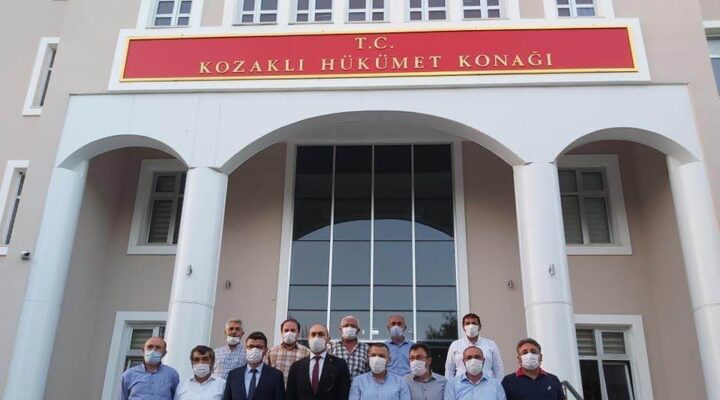 Başkan Dinç Kozaklı'daydı