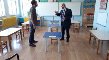 Derinkuyu'da okullar için hazırlıklar tamamlandı