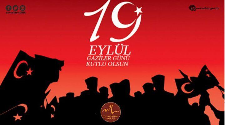 Vali İnci Sezer Becel, 19 Eylül Gaziler Günü mesajı yayımladı