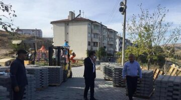 Gülşehir Belediye Başkanı Çiftçi, çalışma alanlarını inceledi