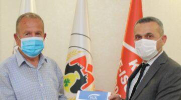 Baltacı'dan NTB Başkanı Salaş'a ziyaret