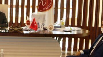 Nevşehir Ziraat Odasından ziyaret