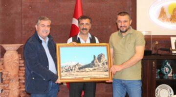 Osman Süslü'ye Ankara'dan nezaket ziyareti